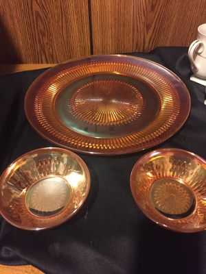 Antique carnival glass for Sale in Raleigh, NC