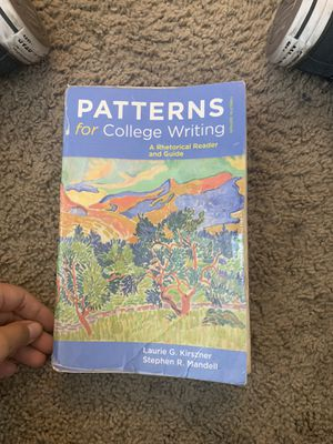 Book Patterns of college writing for Sale in Santa Ana, CA