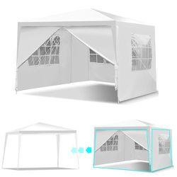 PA4-23 .... 10'x10' Canopy Party Wedding Tent Heavy Duty Outdoor Gazebo Side Walls for Sale in Walnut,  CA