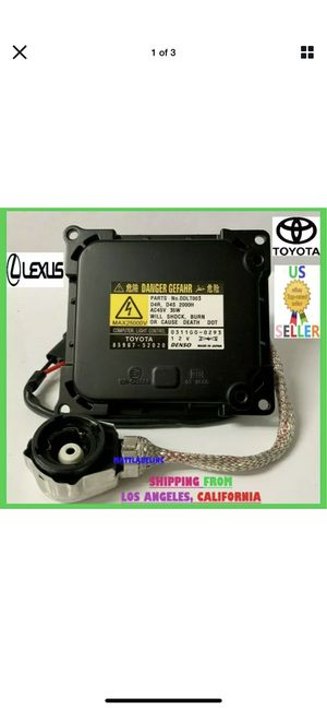 🔥OEM LEXUS TOYOTA D4S D4R GENUINE DENSO HID XENON BALLAST 85967-52020-DDLT003 for Sale in Los Angeles, CA