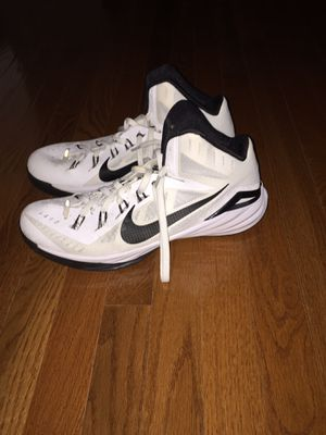 white nike basketball shoes size 13 never worn for Sale in Fairfax, VA