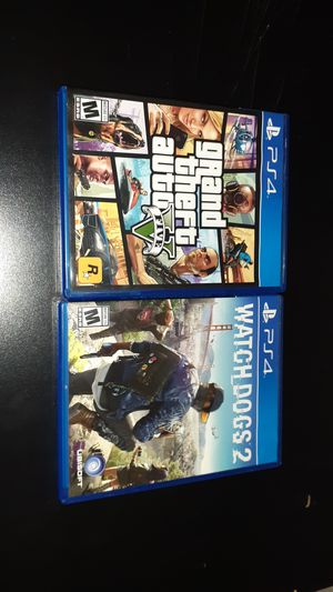 Ps4 games brand new only used once for Sale in Downey, CA