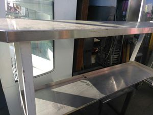 Stainless table double level for Sale in Phoenix, AZ
