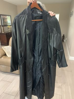 Leather coat for Sale in Freeport, FL