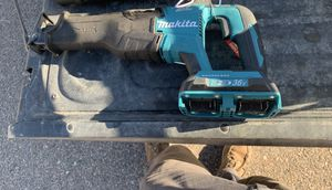 Makita X2 Lxt brushless sawzall with bag for Sale in Broomfield, CO