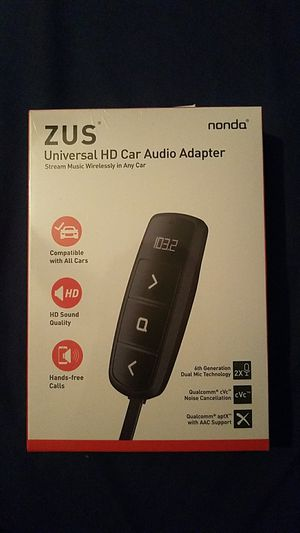 Universal car audio adapter for Sale in Philadelphia, PA