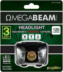 Headlight Luz De Cabeza Camping Outdoor Go Green GG-113-3HLBK for Sale in Miami,  FL