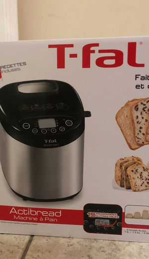 Bread maker t-fal new for Sale in Miami, FL