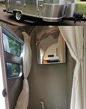 Luxury Travel Trailer Airstream Bambi Breeze Polished Rear Bumper for Sale in Washington, DC