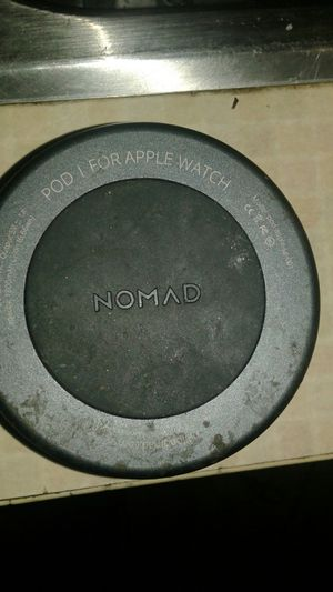 Nomad pod/for apple Iwatch.wireless Charging pod for apple. for Sale in Las Vegas, NV
