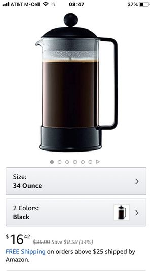 French Press coffee tea maker 16 ounce. Cheap for Sale in Oakland Park, FL
