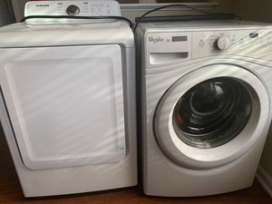 Washer and Dryer Whirlpool and Samsung for Sale in Raleigh, NC