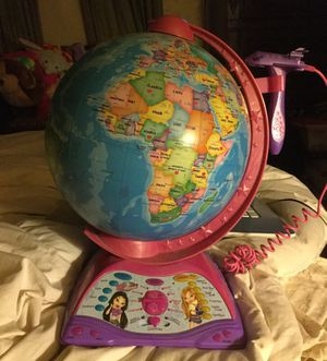 Brats learn with me globe, batteries included for Sale in Columbus, OH