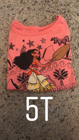 5T Moana shirt for Sale in Fresno, CA