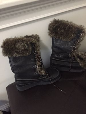 ALDO dark brown boots, perfect condition, size 8-8.5 for Sale in Hingham, MA