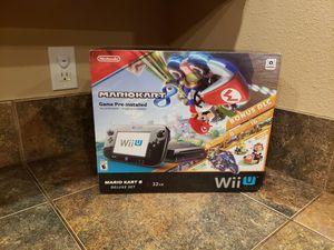 New In Box Nintendo Wii U Mario Kart 8 Deluxe Bundle for Sale in Marysville, WA
