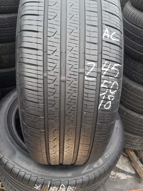 245/50-18 #2 tires