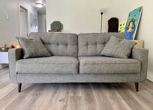 Modern grey sofa in great condition for Sale in Portland, OR
