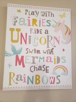 Unicorn/Mermaid picture for Sale in Corona, CA