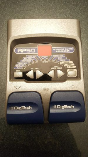 Digitech Rp50 guitar pedal for Sale in Olympia Heights, FL