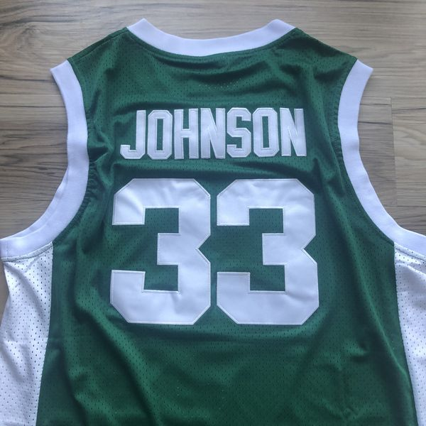 BRAND NEW! 🔥 Magic Johnson #33 Michigan State NCAA Throwback Jersey + Size XL + SHIPS OUT TODAY! 📦💨