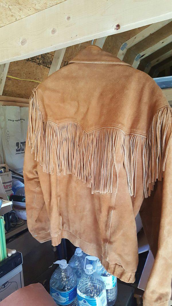Frindge Jacket leather