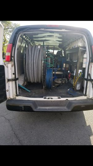 Carpet cleaning Van w Equipment ready for work 2007 , 132k miles AC works amazing , Tires are literally brand new for Sale in Houston, TX