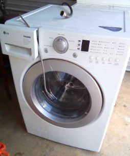 Lg front loader washer and whirl pool dryer for Sale in Locust Grove, GA