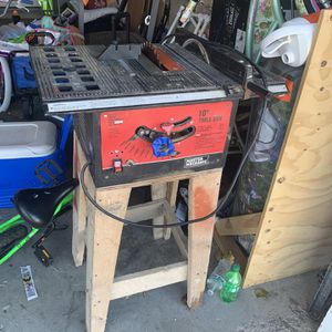 Table Saw 65 OBO for Sale in Magna, UT