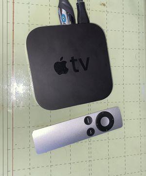 Apple TV with remote for Sale in El Cajon, CA