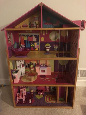 Barbie house, JEEP, horse, bike and accessories for Sale in Midlothian, VA