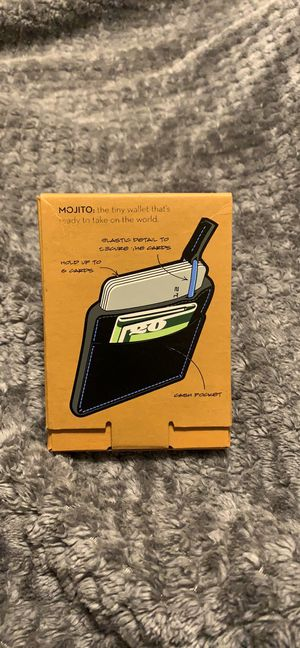 Mojito Brand Vegan Leather Wallets for Sale in Tallahassee, FL