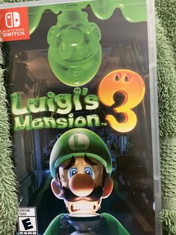Luigi's Mansion 3 (Nintendo Switch Game) for Sale in Los Angeles,  CA