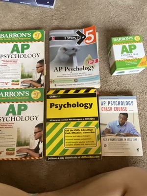 AP psych Prep Books for Sale in Los Angeles, CA