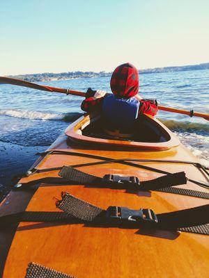 17' wood kayak for Sale in Oak Harbor, WA