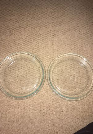 Two 9 inch Glass Pyrex Pie Pans for Sale in Winter Springs, FL