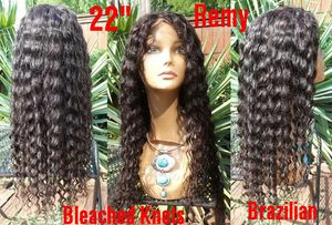 """New 22"""" Glueless Deep Wave Brazilian 100% Human Hair Lace Front Wig s5 for Sale in Lanham, MD"""