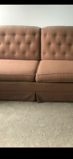 Free Pullout Couch Hardly Been Used for Sale in Stone Mountain,  GA