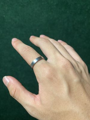 SS Silver Band Ring Size 8.5 for Sale in Garden Grove, CA