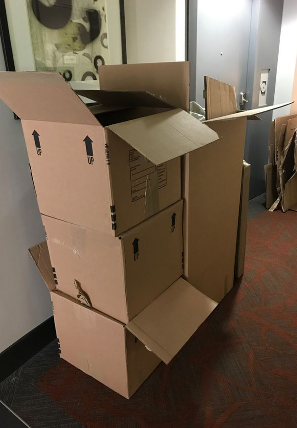 Cardboard Moving Boxes