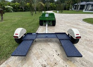 Master Tow wide 80 inch. Car Hauler dolly. Brakes. All redone. Grease. lights etc. Recent tires for Sale in Lithia, FL
