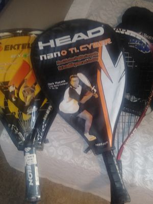 Tennis rackets racket ball !! for Sale in Garner, NC