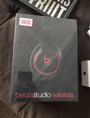 Black Bluetooth Beats Studio Wireless - Still In OG Plastic! for Sale in Anaheim, CA
