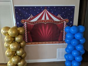 Circus Carnival photo backdrop for Sale in San Jose, CA