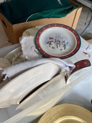 Snowman dishes for Sale in Tomahawk, WI