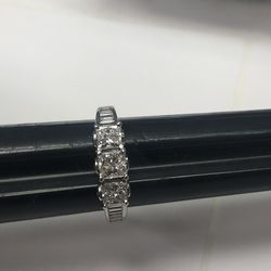14k White Gold 1 1/2ct Diamonds Ring Size 5 3/4 for Sale in Baltimore,  MD