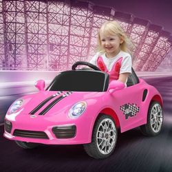 🎉!!BRAND NEW REMOTE CONTROL Electric Kid Ride On Car Power Wheels PORSCHE with LEDS, Built in Music And Auxiliary audio for Sale in Whittier,  CA
