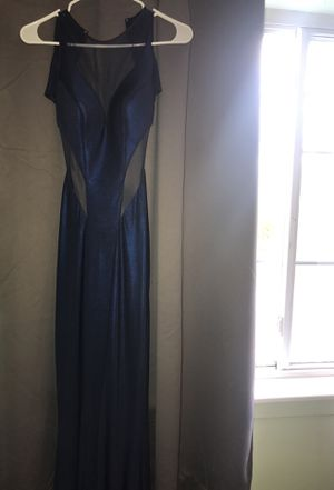 Prom dress navy blue brand new size 2 BEST offer !! for Sale in West Haven, CT