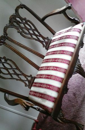 Antique two seater chair for Sale in Jetersville, VA