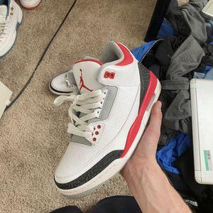 Jordan Retro Fire Red 3's for Sale in Sacramento, CA
